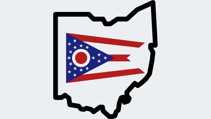 Human Trafficking in Ohio Map